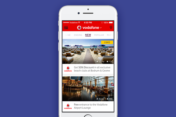 Vodafone Privileges App
