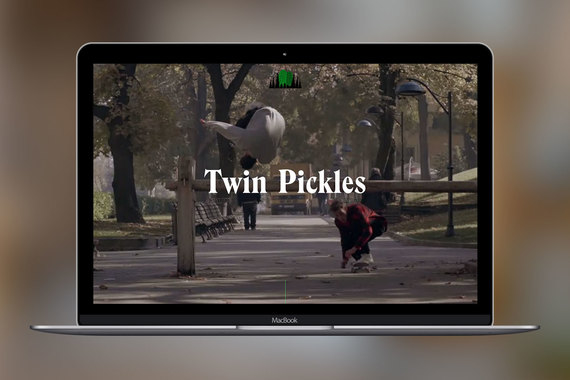 Twin Pickles: Video Portfolio Website