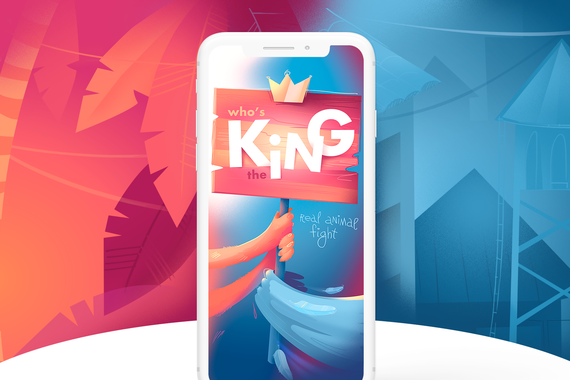 Who's the King? — Swiping Game for Smartphones
