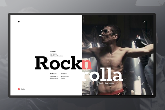 Responsive Design for Favorite Movie Site (Educational Work)