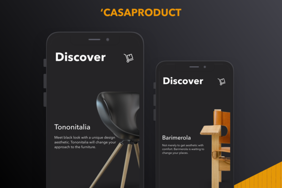 Casa Product Furniture eCommerce