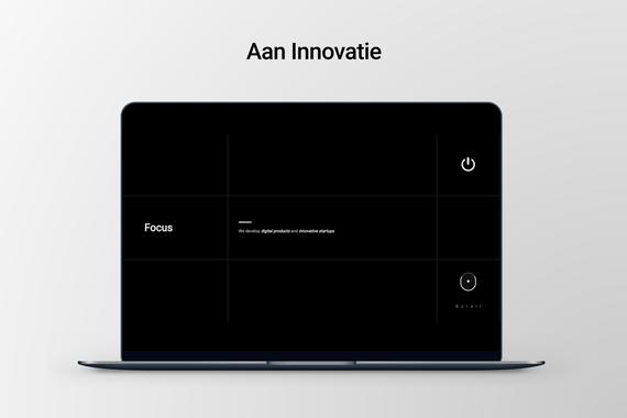 Aan Innovatie Agency Web Design