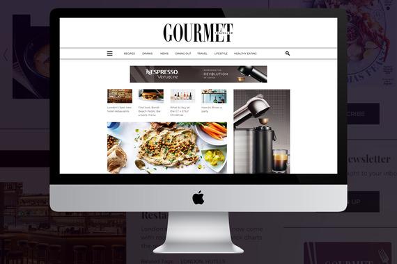 Gourmet Traveller Website Design