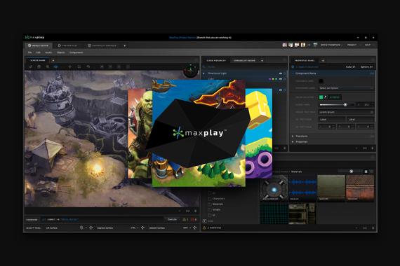 MaxPlay Game Development Suite