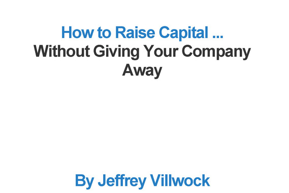 Book | How to Raise Capital (Without Giving Your Company Away)