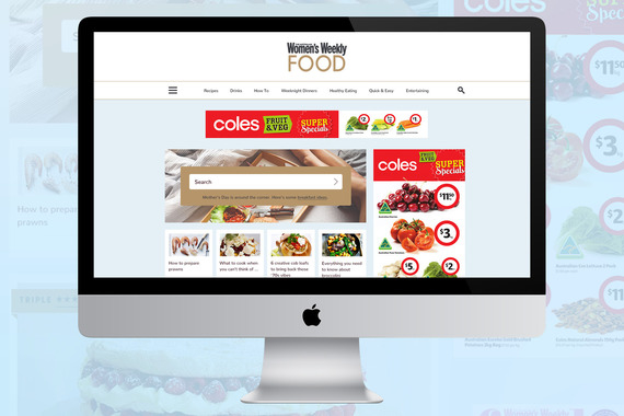 Women's Weekly Food Website