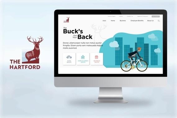 The Hartford Website UI Design