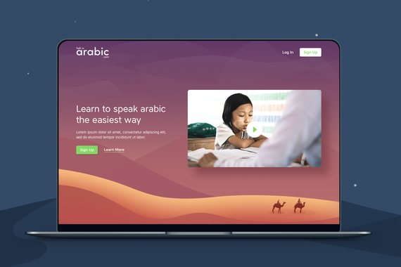 Talk in Arabic | An Online Platform to Learn Arabic