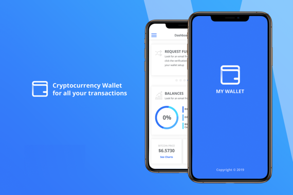 My Wallet - Cryptocurrency App