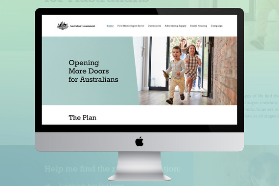 Australian Government Campaign Website