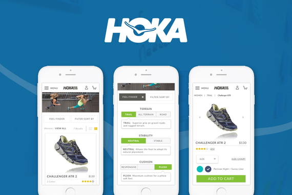 Simplifying the Shoe Shopping Experience for an Explosive Shoe Brand