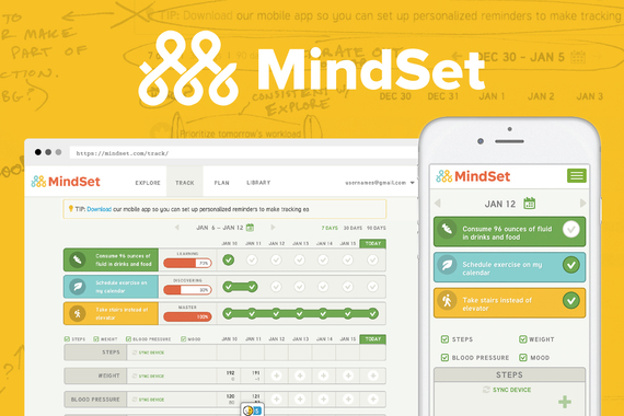 Science-based Web App Helping Users Create Healthy Lifestyle Habits