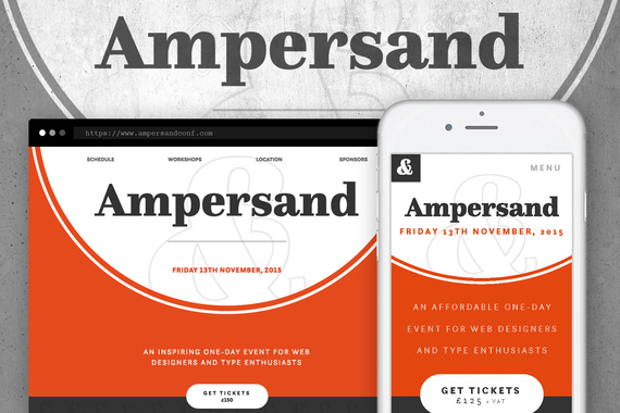 Responsive Website Design for the UK's Premier Typography Conference