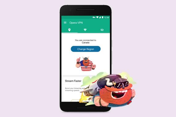 Opera VPN Android App