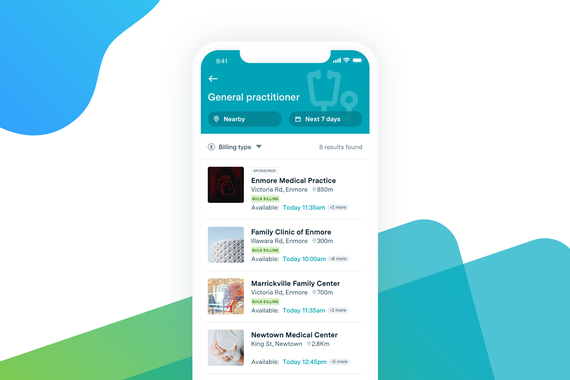 HealthEngine | Healthcare Booking App