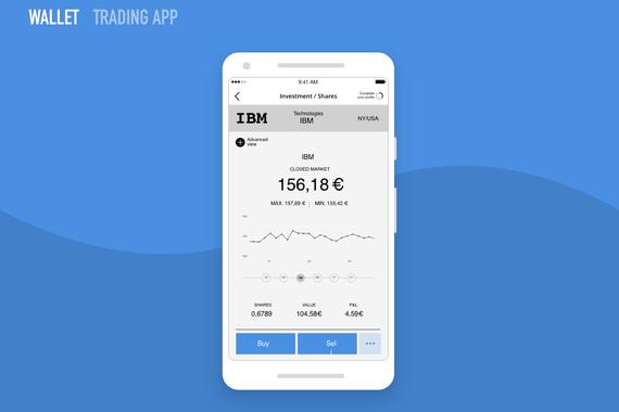 Wallet Trading App