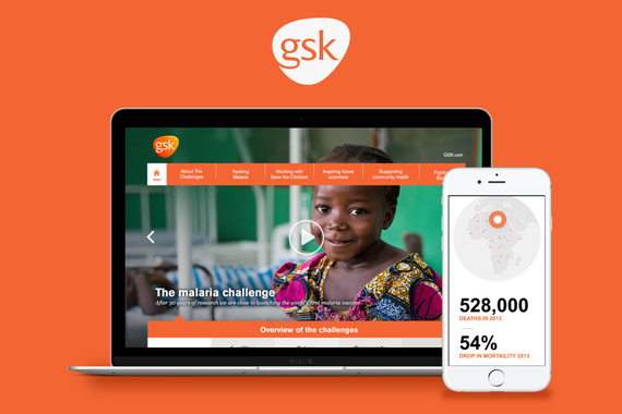 GSK | Responsive Campaign Website