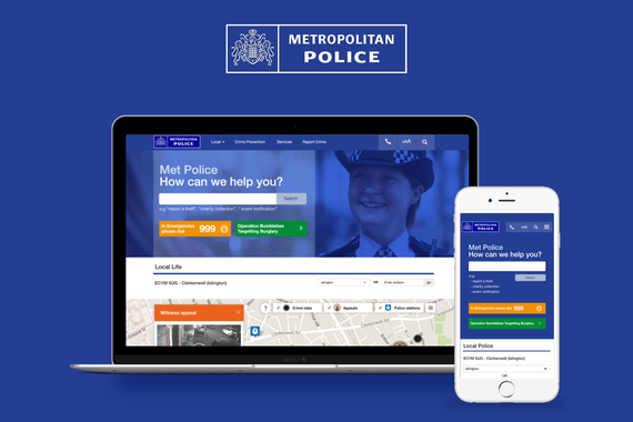 London Metropolitan Police | Responsive Website