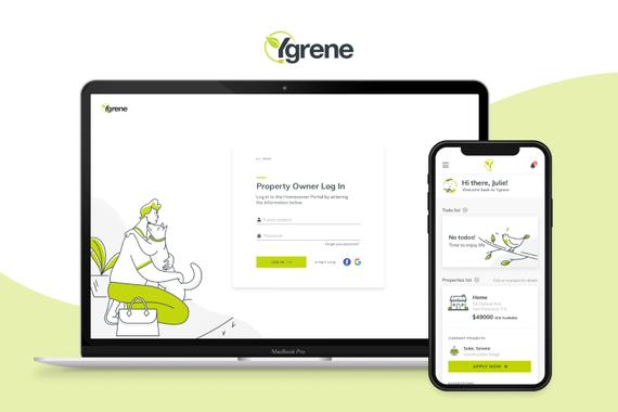 UX/UI Design and Illustrations for Homebuilder's Financing Portal