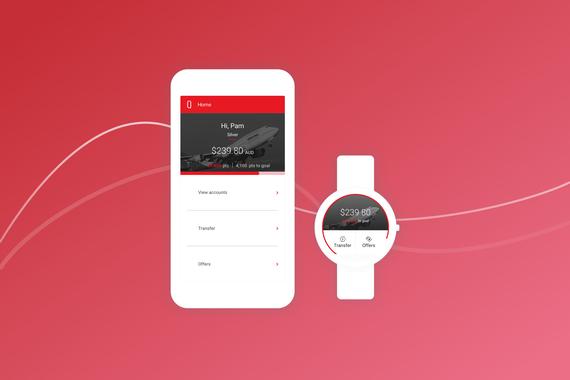 Concept Project for Qantas Cash