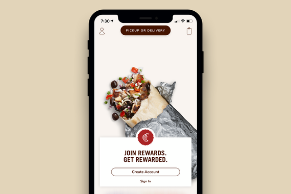 Chipotle iOS App