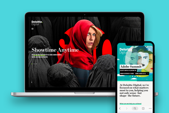 Deloitte Digital Responsive Website