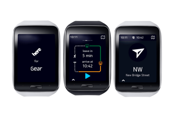 Nokia/HERE | HERE Maps for Samsung Gear