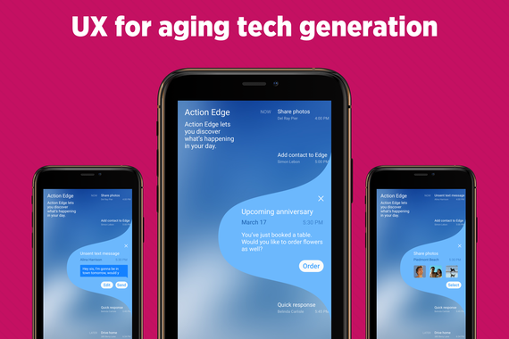 UX For Aging Tech Generation