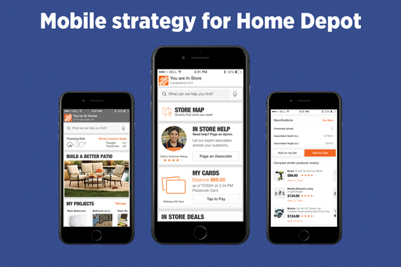 Mobile Strategy for Home Depot