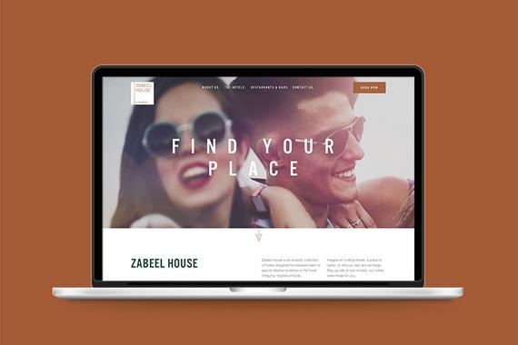 Zabeel House by Jumeirah Website UX/UI