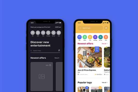 The Entertainer App UX/UI Revamp
