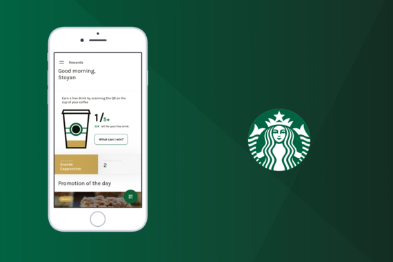 Starbucks Chile - UI-Oriented Project, B2C
