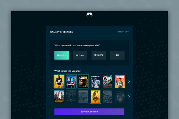 E-sports Gaming Platform