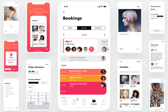 An App That Matches Hair Professionals to Customers