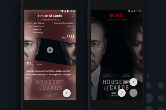 Music and Movies Recommendation Mobile App