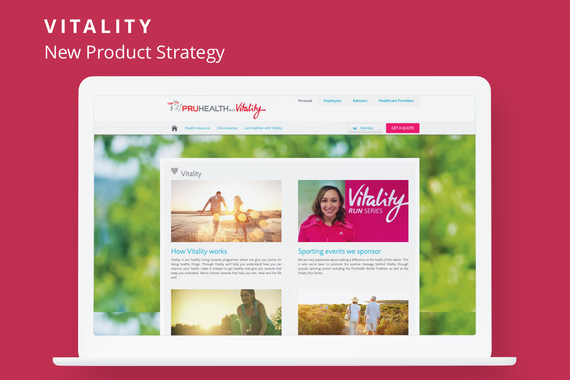 Vitality New Product Strategy