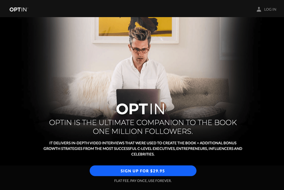 OPTIN - Video Platform Design + Development