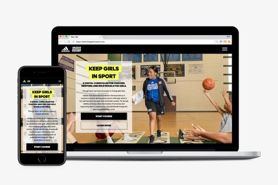 Adidas x Up2Us Digital Curriculum Experience