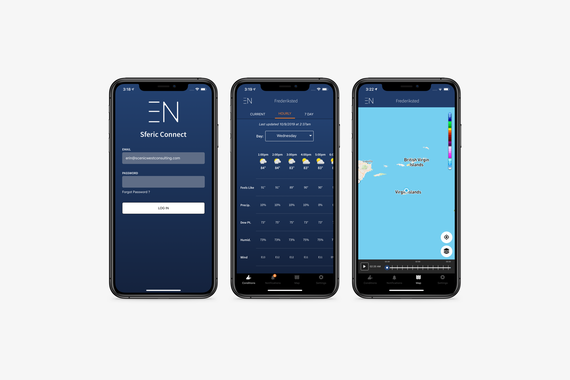 Earth Networks Sferic Connect Native App