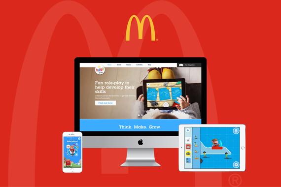 McDonald's Happy Studio Gaming Platform