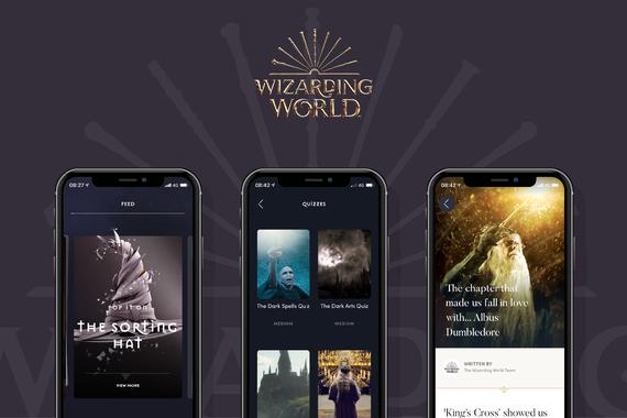 Wizarding World Official App