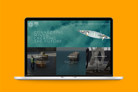 Expo 2020 Dubai Website UX/UI