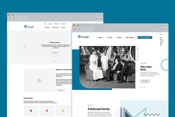 Al Thuriah Group Website UX/UI Revamp