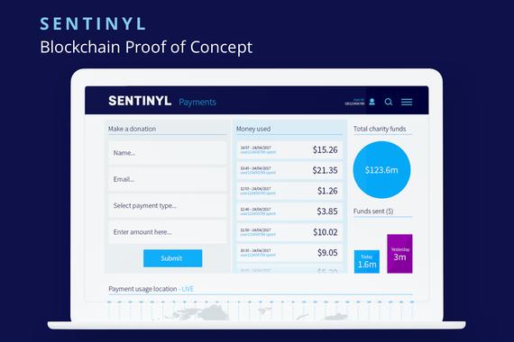 Sentinyl: Blockchain Aid Distribution Proof of Concept