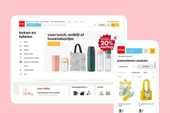 HEMA — eCommerce Website