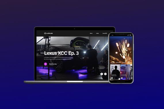Lexus XCC Design, Creative Direction, Video, Photos