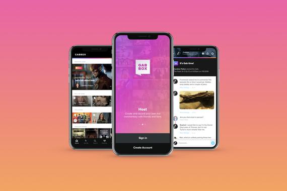 GabBox iOS App, Branding, Design Systems