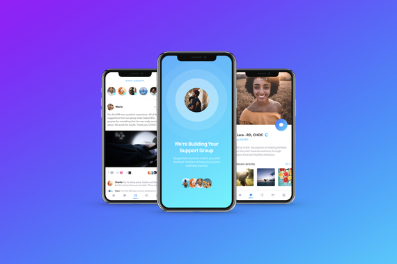 Choc Groups Digital Health Mobile App