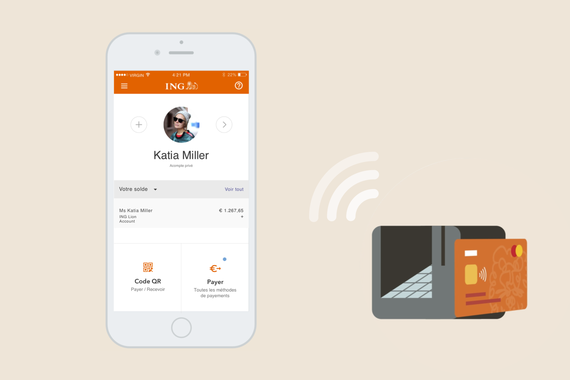 ING Bank — Contactless and QR Code Payment