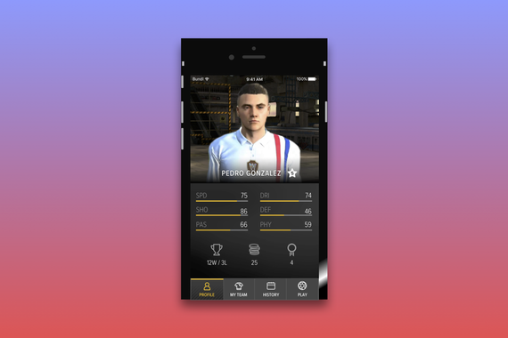Augmented Reality Soccer
